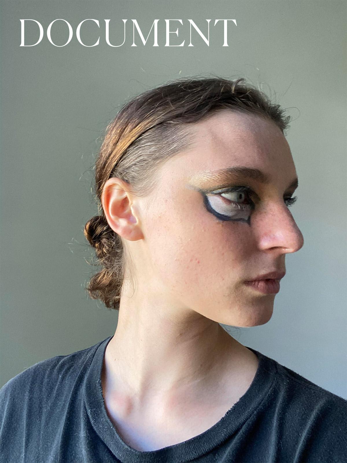 Watch Ansley Gulielmi morph into a modern-day Veruschka
