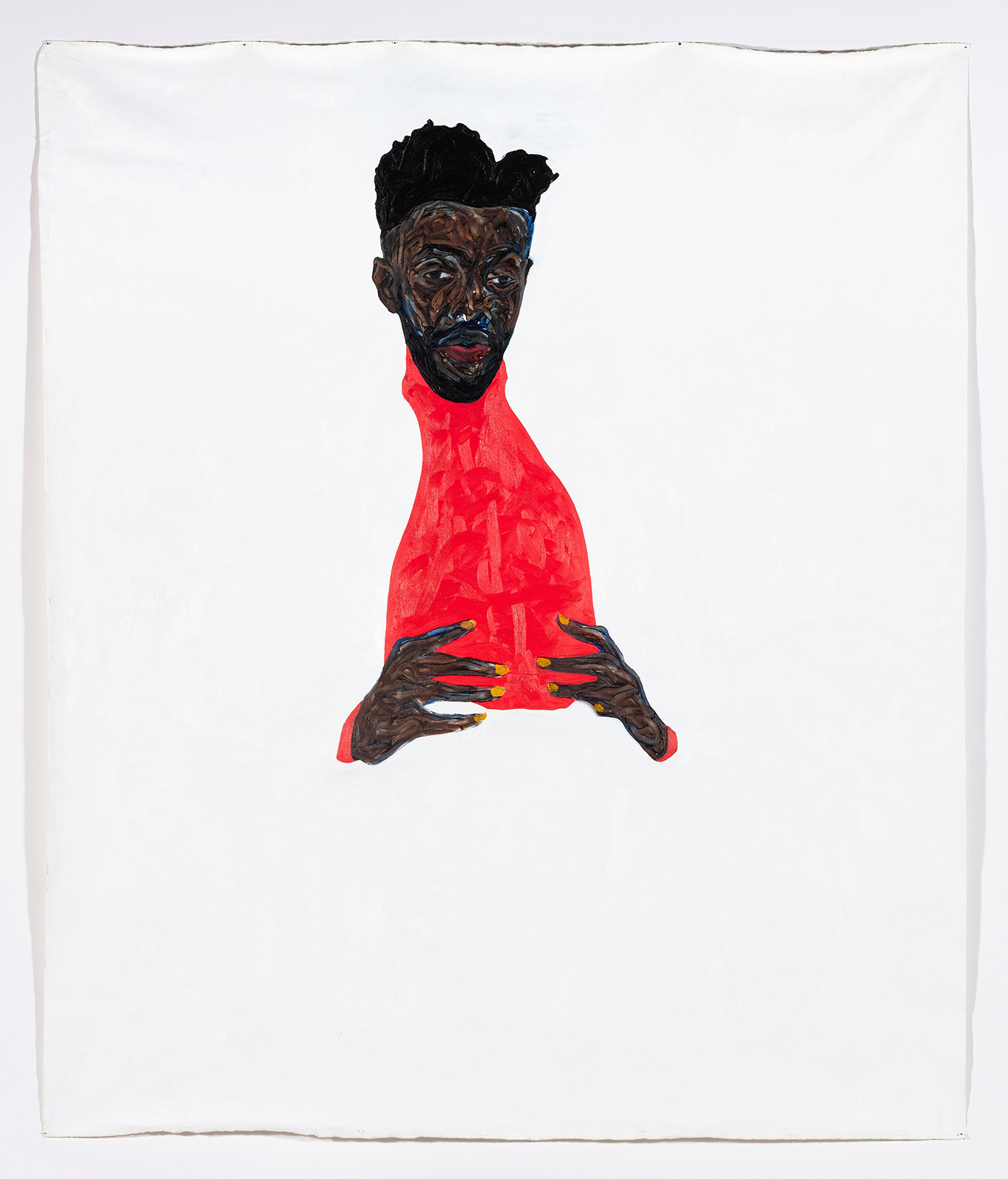 """When I look at you, do you see me?"" Painter Amoako Boafo urges us to consider the complexities of blackness"