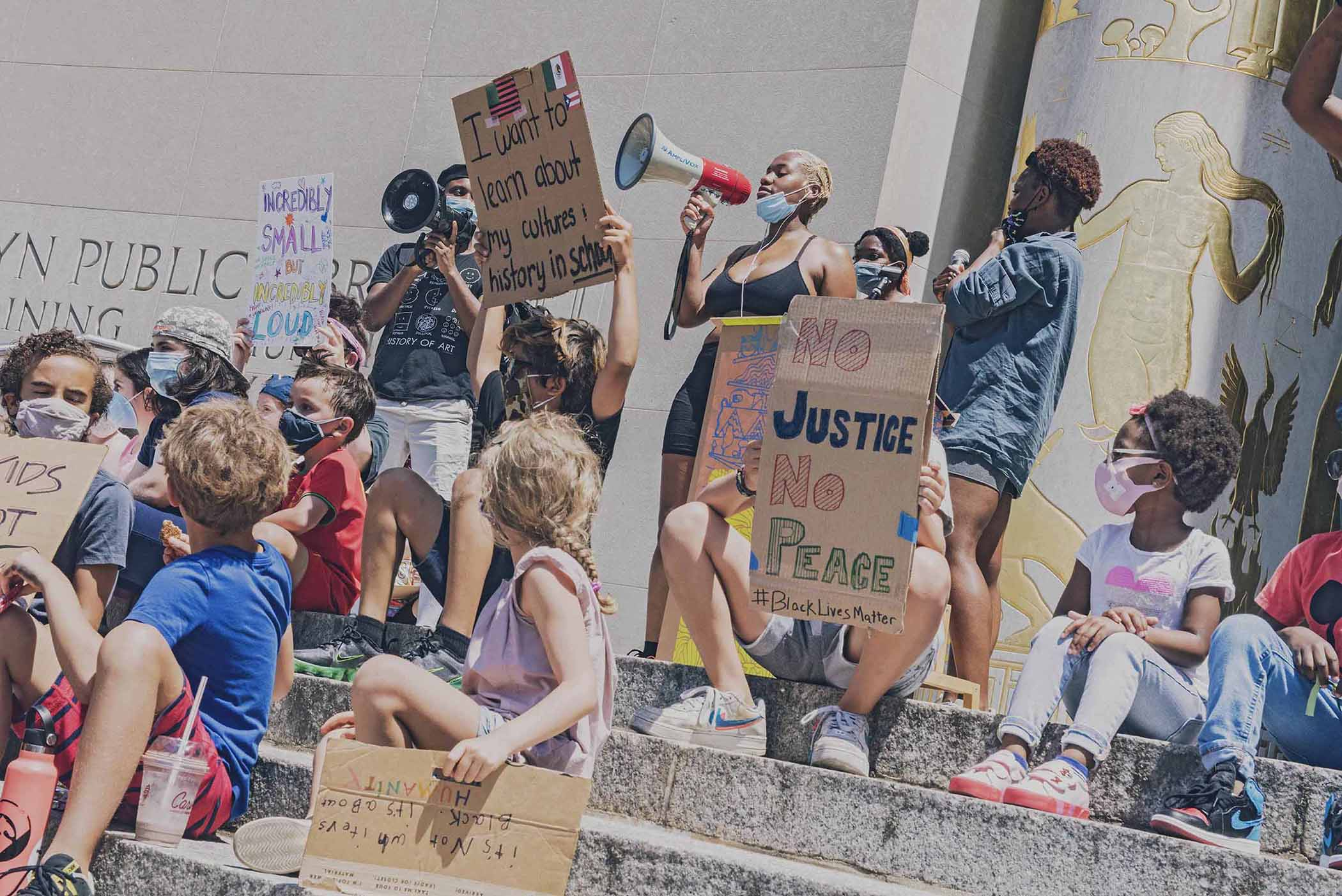 Warriors in the Garden are the youth-led collective at the forefront of civil rights protests
