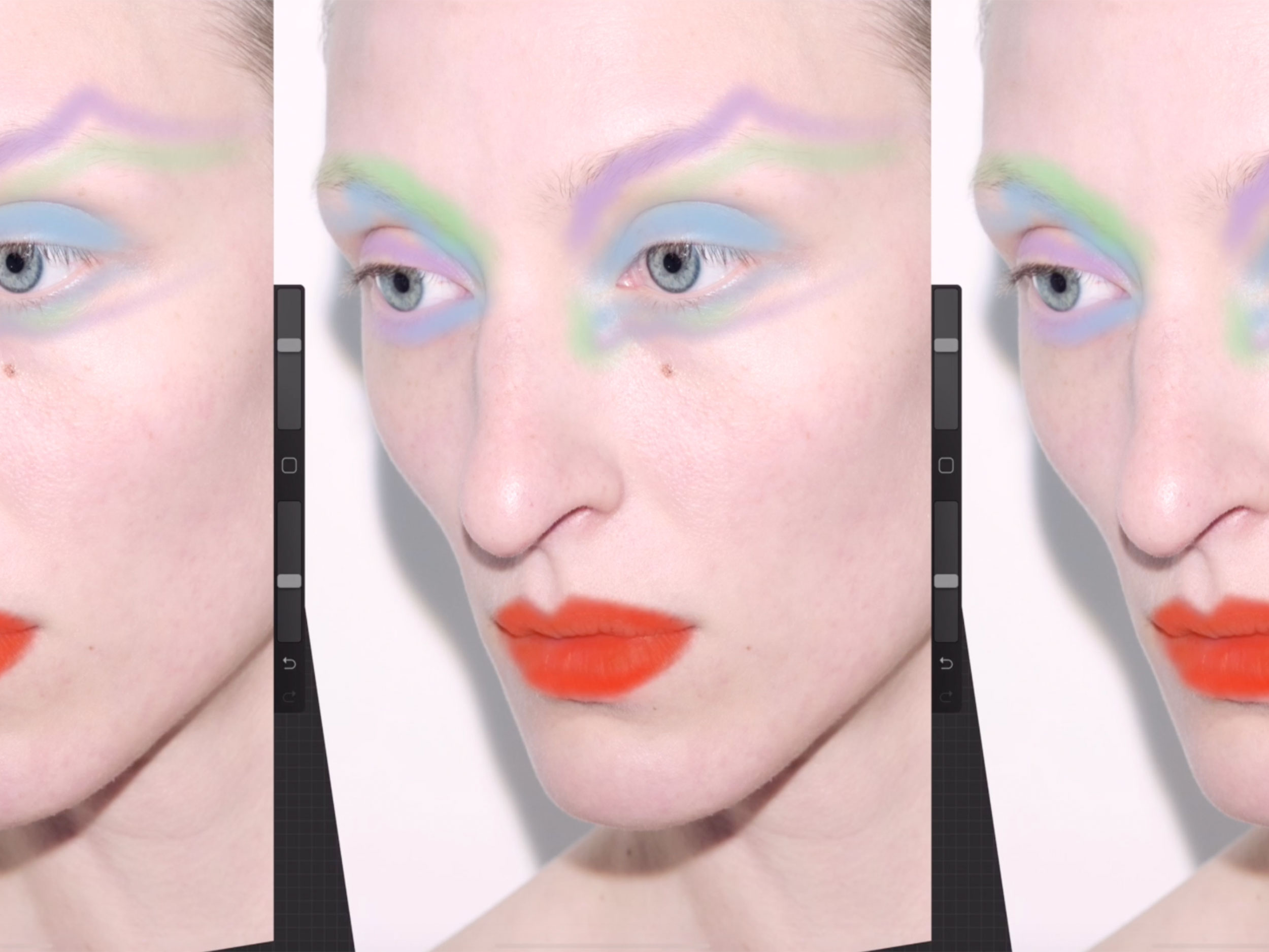 Lucy Bridge unleashes her creativity with digital, contact-free makeup