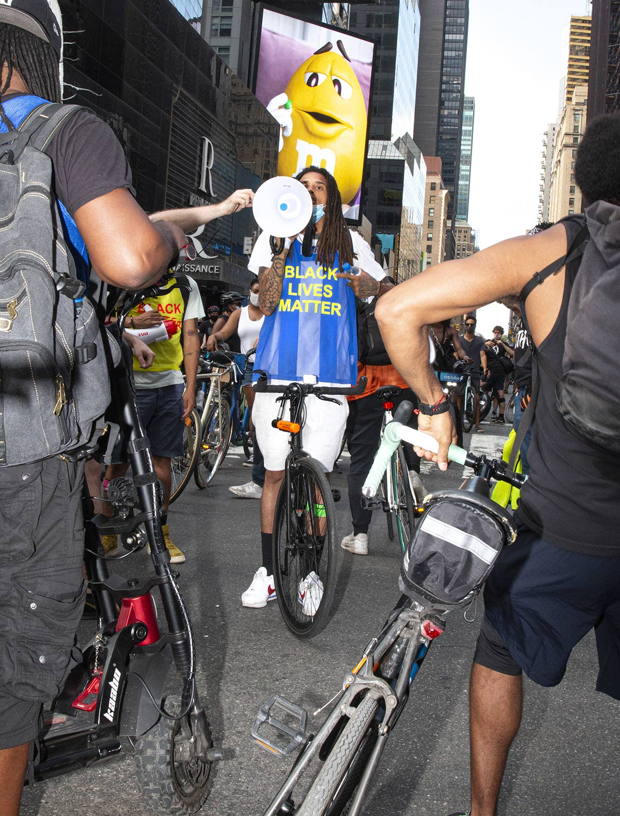 Street Riders NYC, the cycling collective on the revolution's frontline
