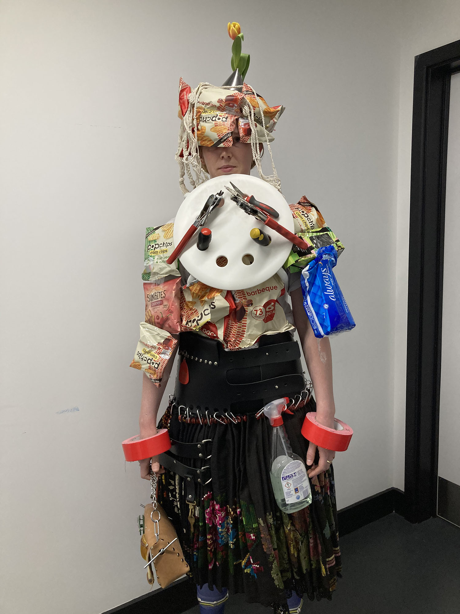 Fashion from Isolation: 5 designers create looks using only household items