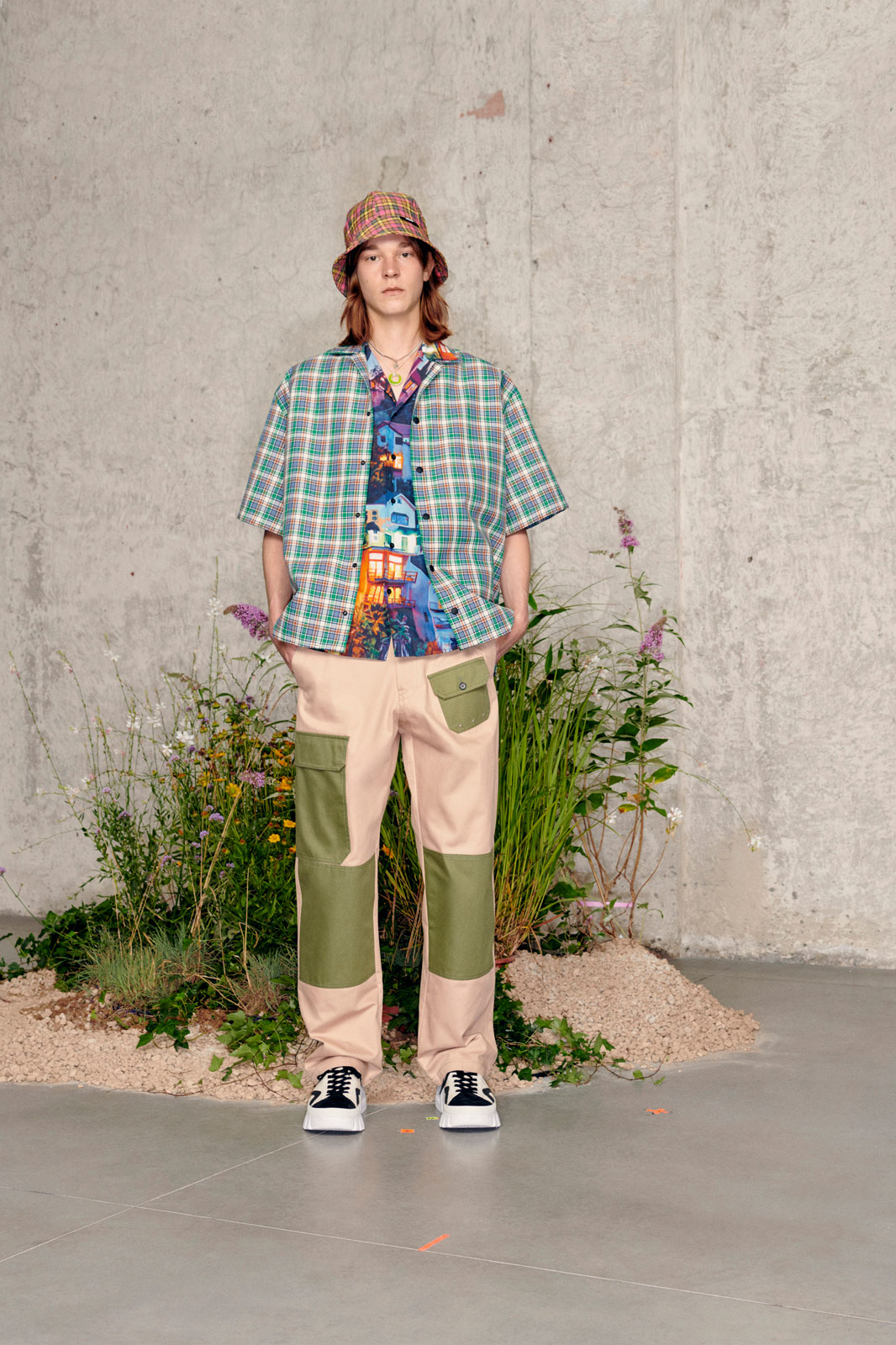 MSGM's Spring/Summer 2021 collection is an anticipatory celebration of life after lockdown