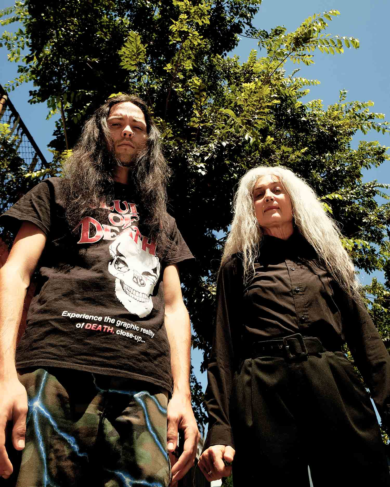 Multigenerational rock duo The Great Sadness exorcise their demons