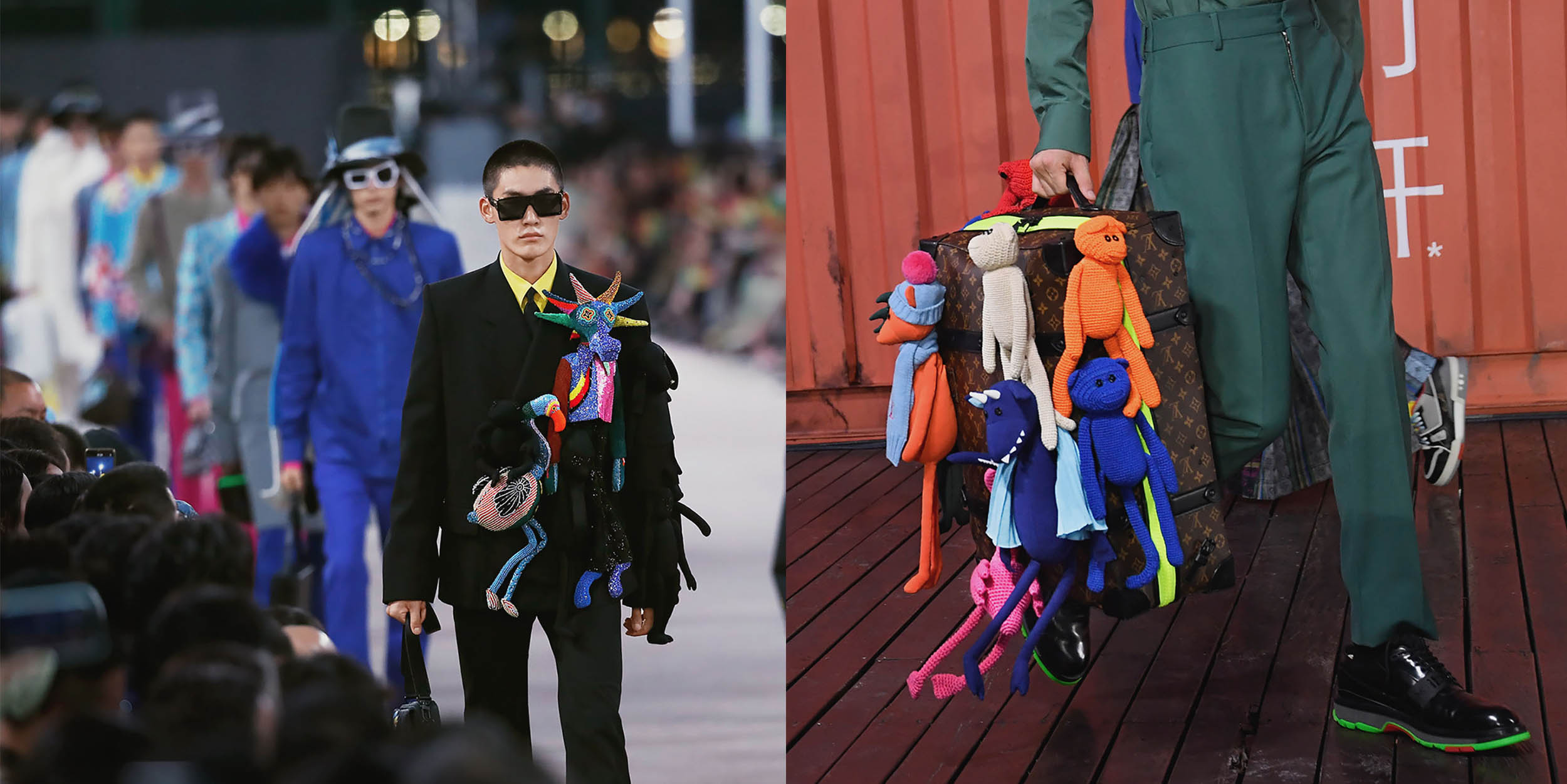 Globalization and plushies: Up close with Louis Vuitton Men's latest collection
