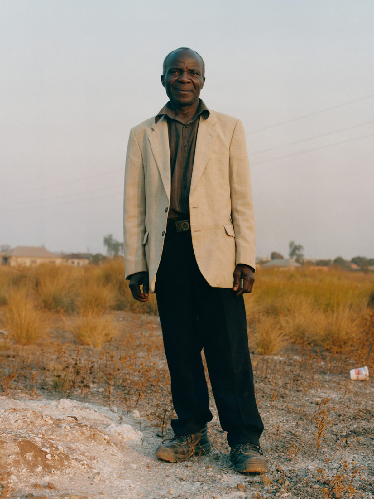 Kabwe, Zambia, where mining operations have destroyed the environment—and lives
