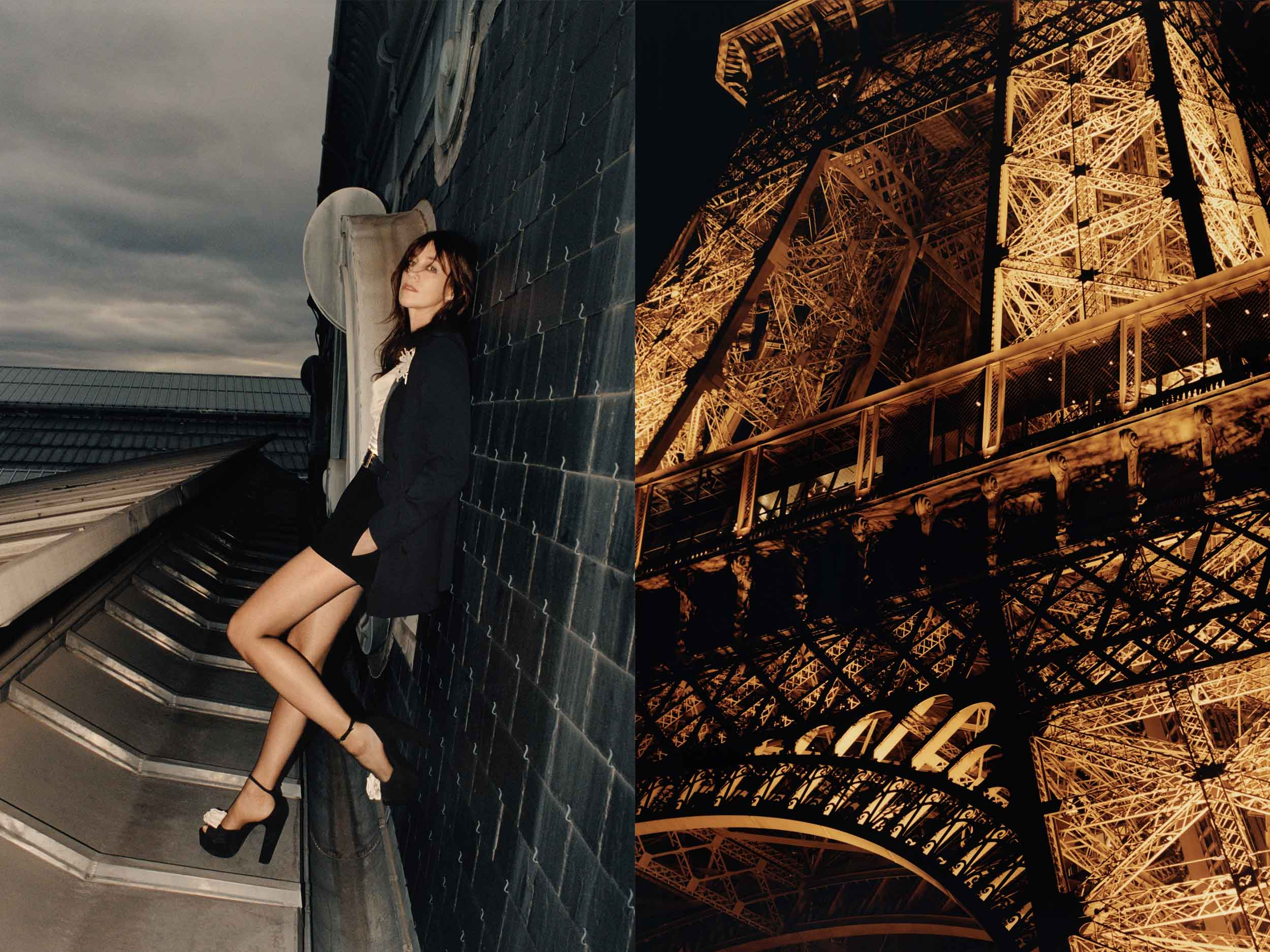 Fashion parkour: Saint Laurent scales the skylines of Paris, New York, and Beijing