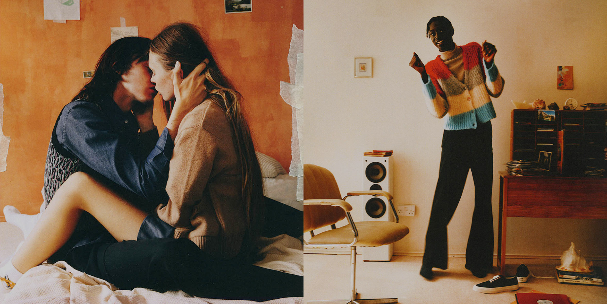 A world in your bedroom: The cozy sensuality of Maison Kitsuné
