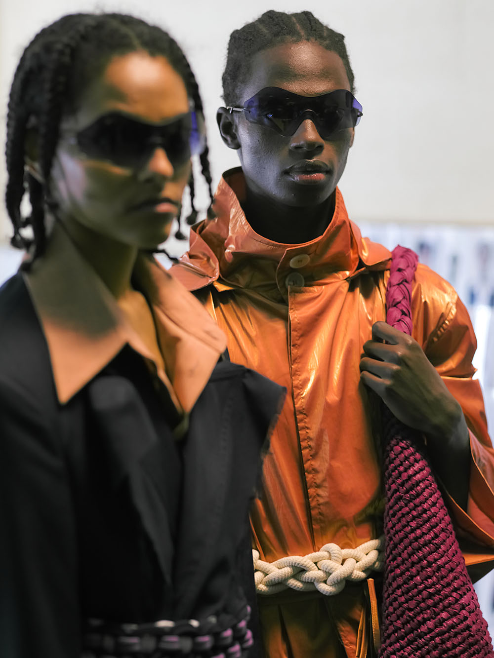 Peter Lowe captures an uncharacteristically quiet London Fashion Week