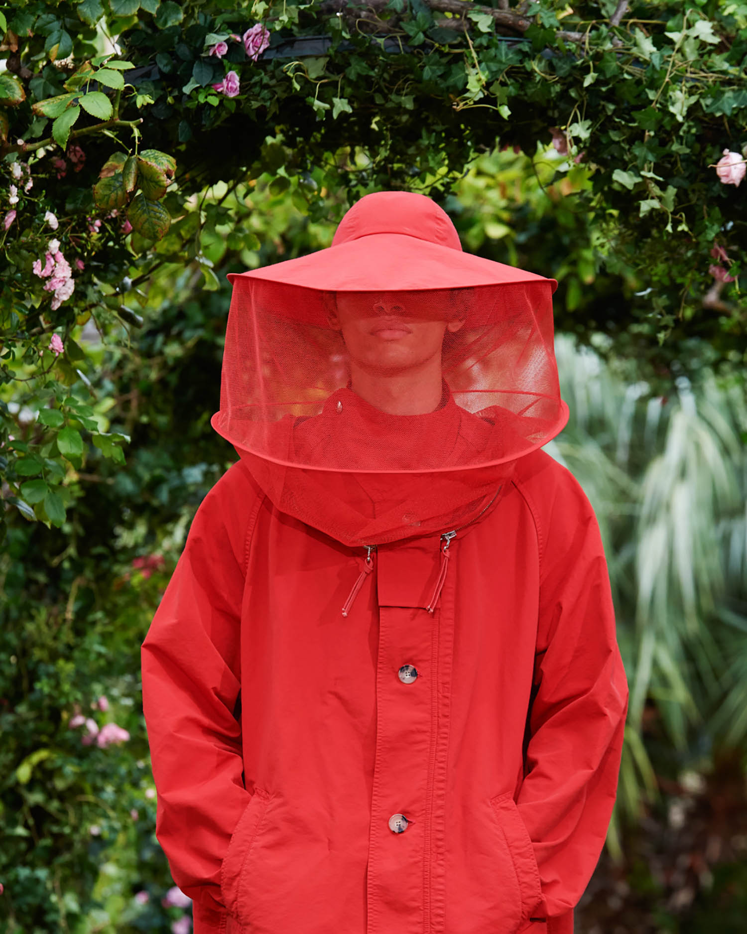 Kenzo's beekeeper-inspired collection is a planetary call to action