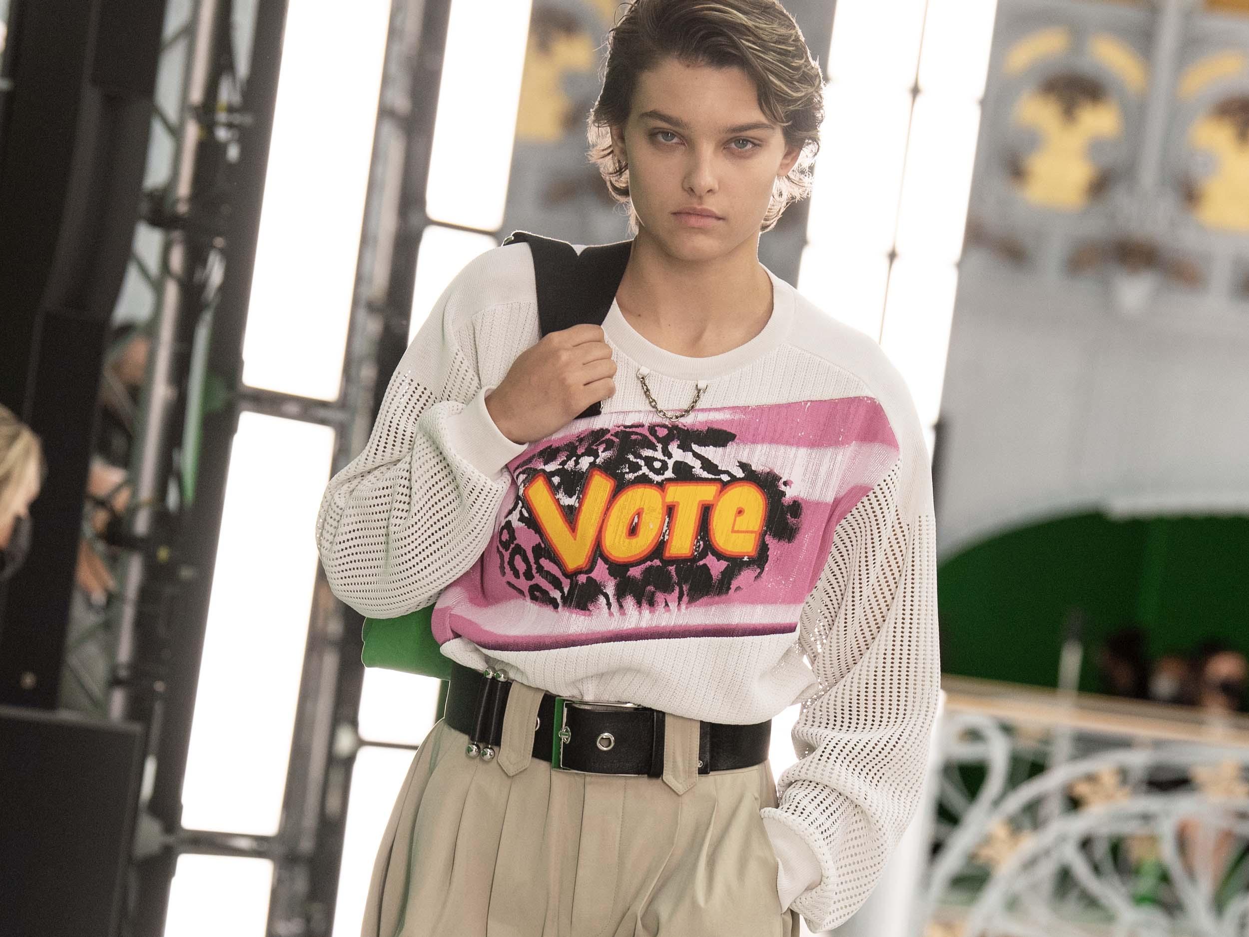 Louis Vuitton's Spring/Summer 2021 collection endorses androgyny