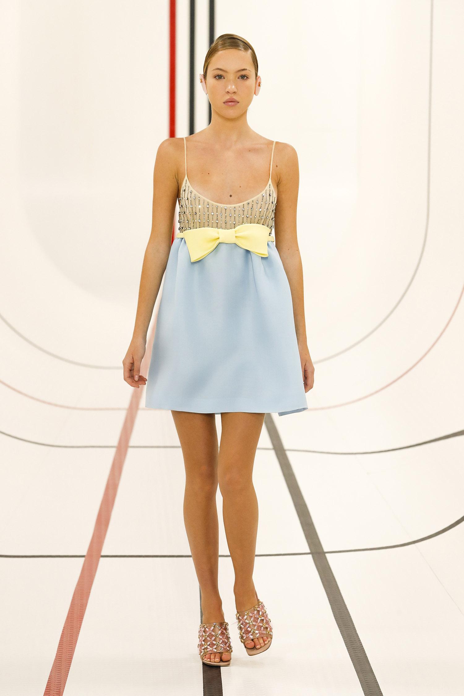 For Miu Miu, fashion is a spectator sport