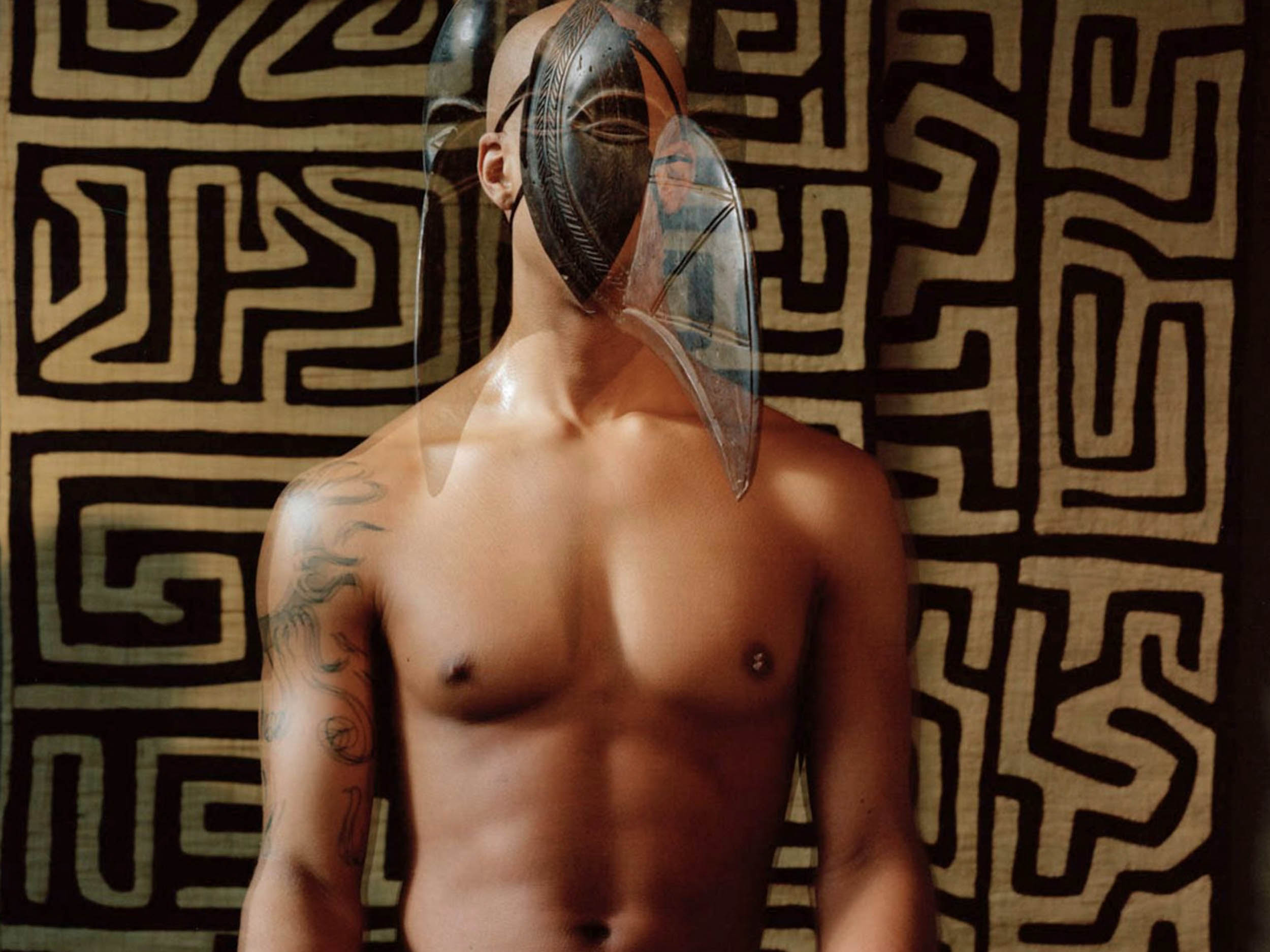 The photographs of John Edmonds examine realness and ritual in the Black diaspora