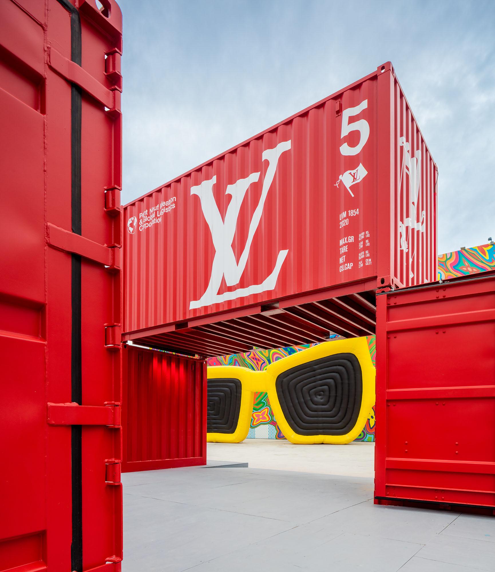 Louis Vuitton's new installation animates Miami Design District