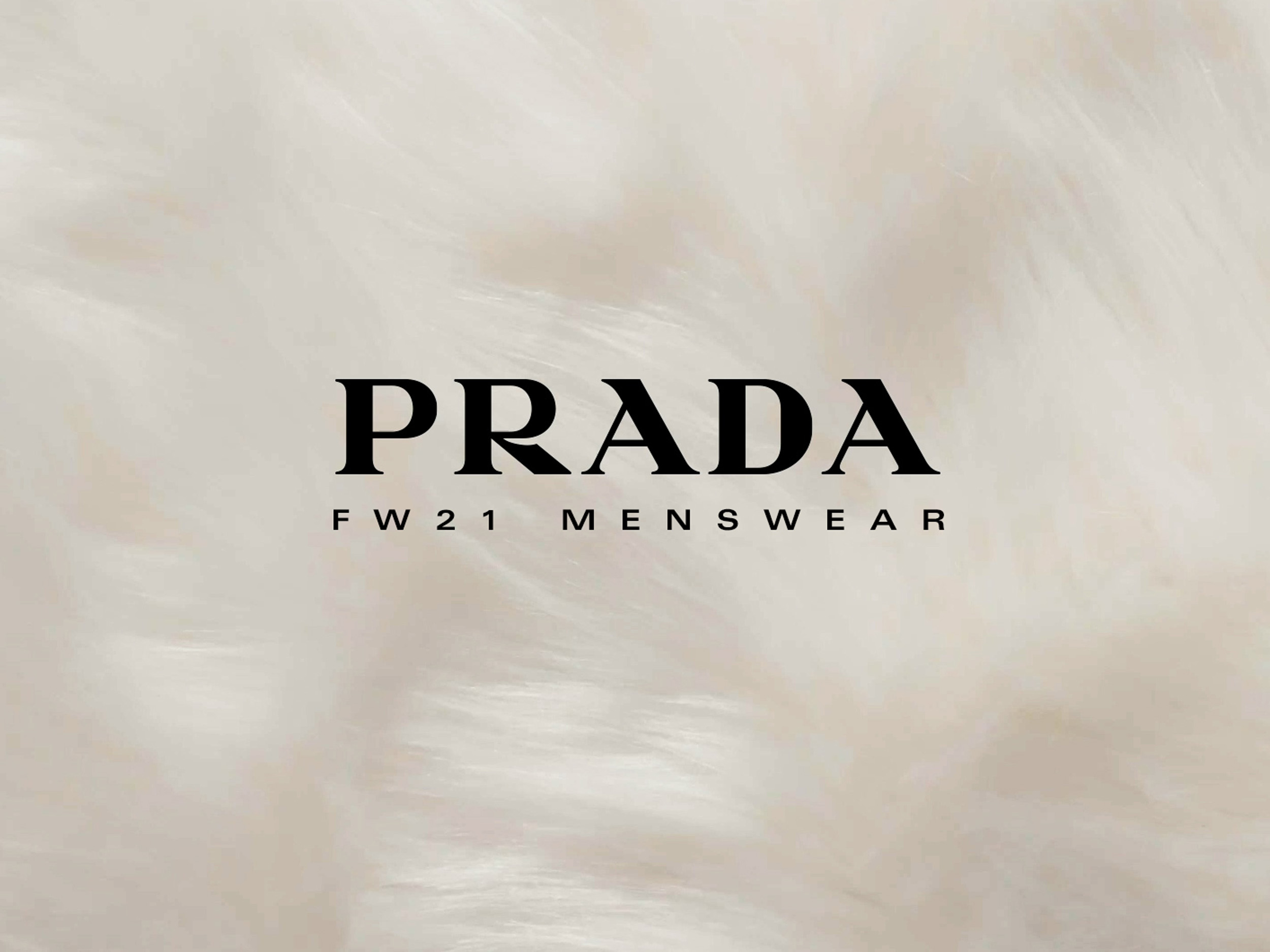 Livestream Prada Menswear Fall/Winter 2021 collection here
