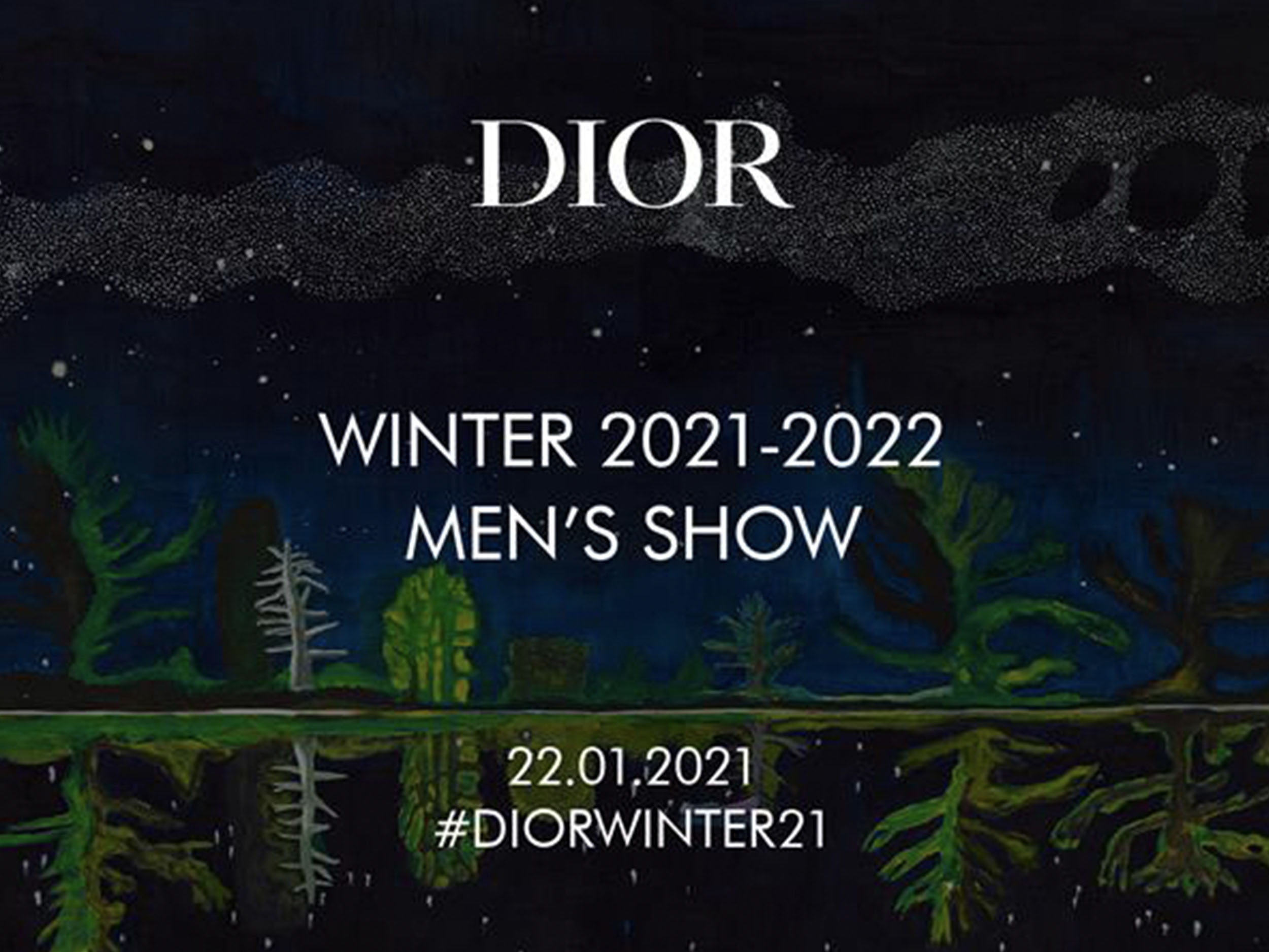 Livestream Dior's Menswear Fall/Winter 2021 collection here