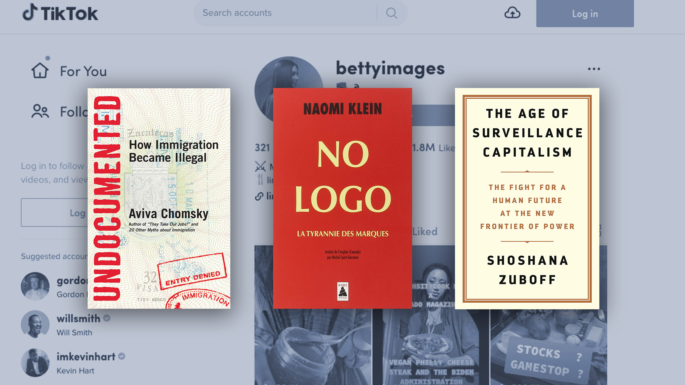Betty Images's books for burgeoning leftists