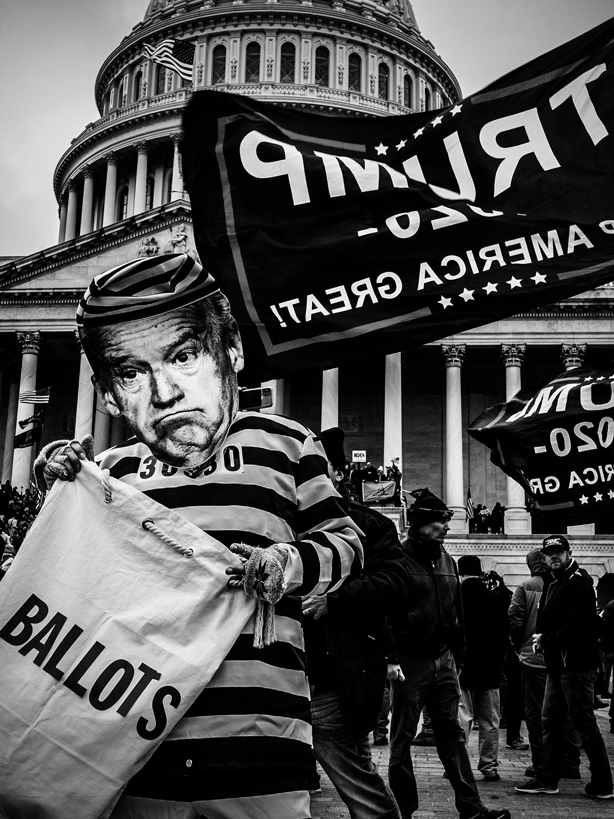 Inside the US Capitol insurrection with photographer Mark Peterson