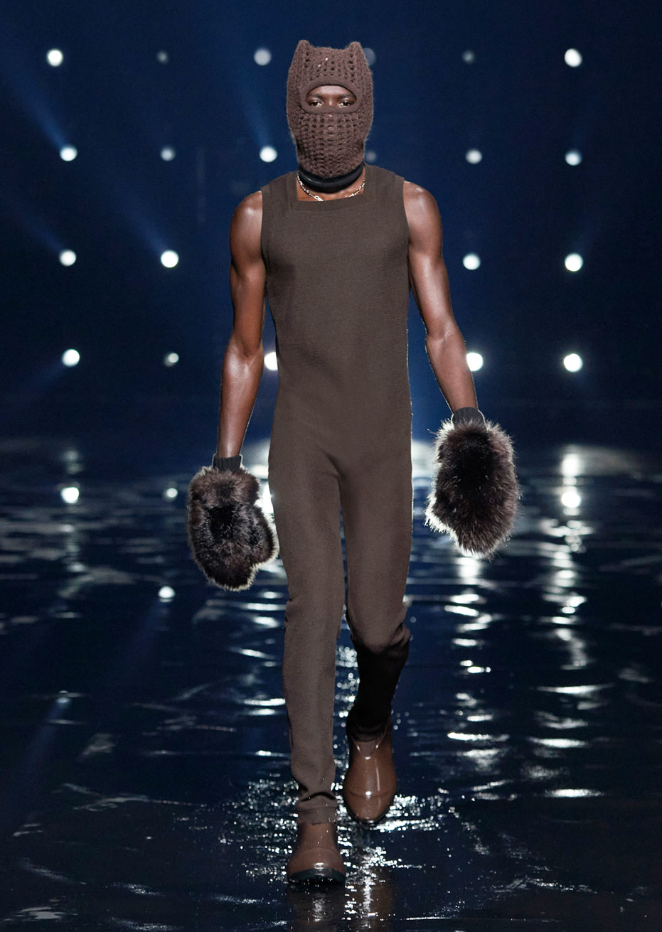 Givenchy's newest line is future-forward and full of anthropomorphic sensuality