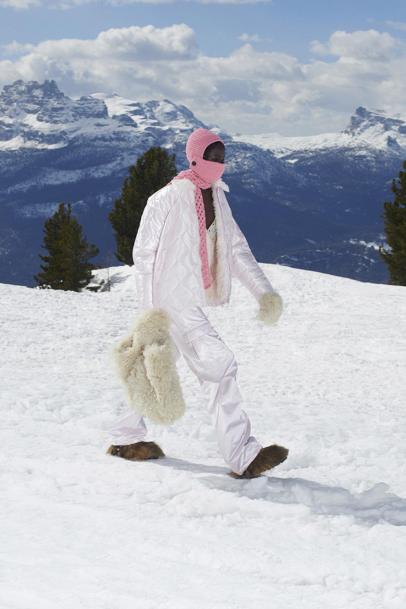 Miu Miu hits the slopes for Fall/Winter 2021