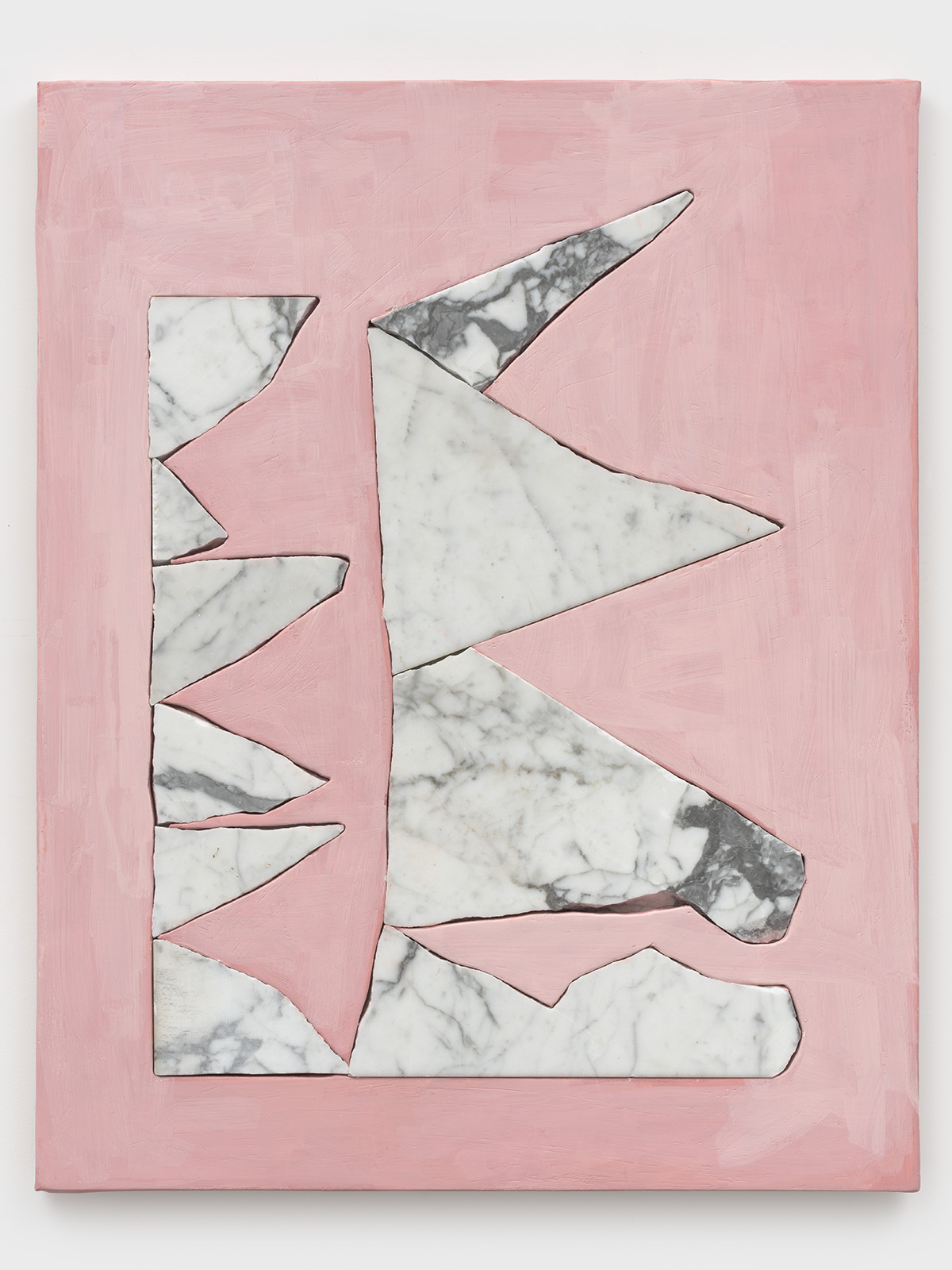 Artist Sam Moyer creates a personal narrative in abstraction
