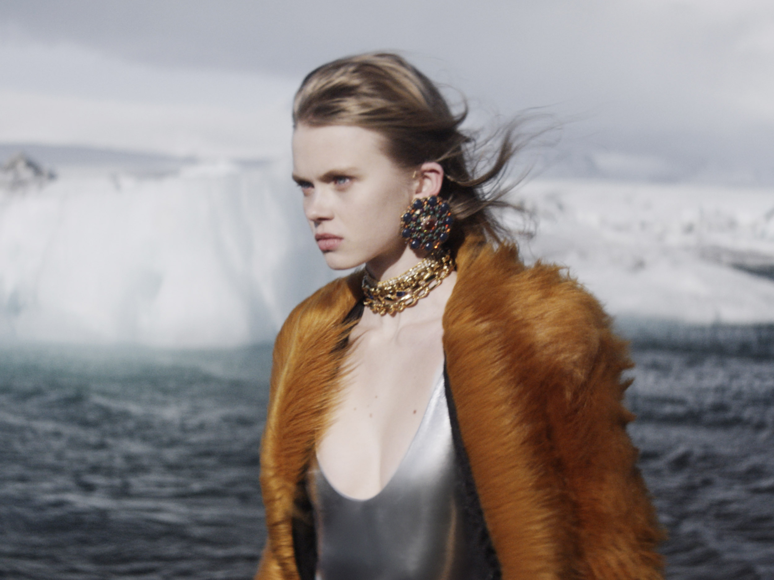 Saint Laurent honors the awe-inspiring intensity of nature and the feminine