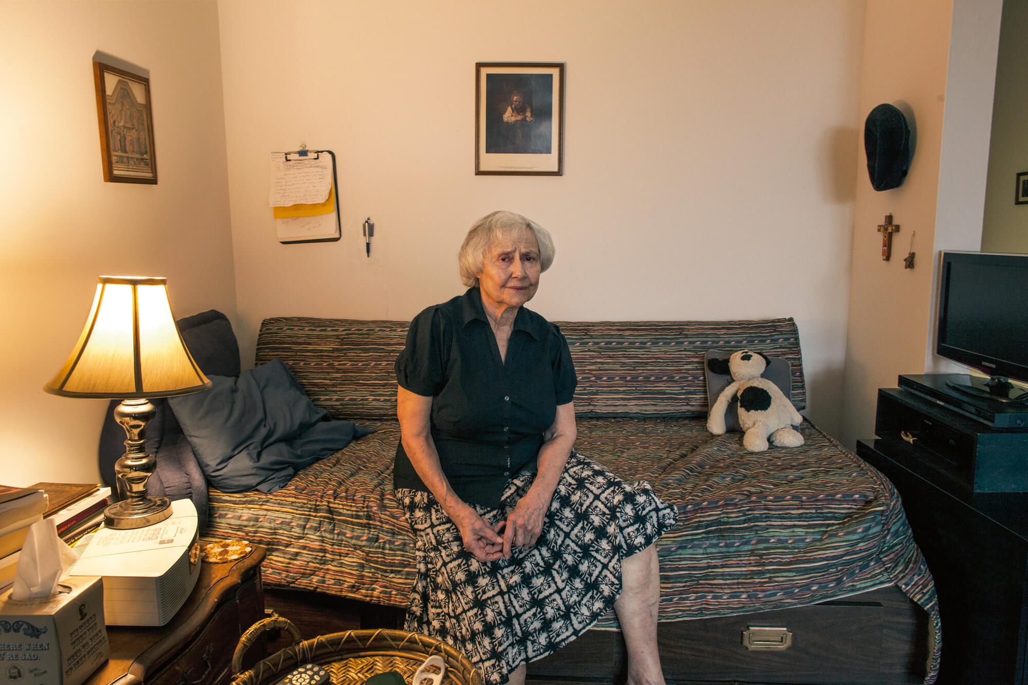 Frankie Alduino captures the longtime residents of Westbeth Artists' Housing