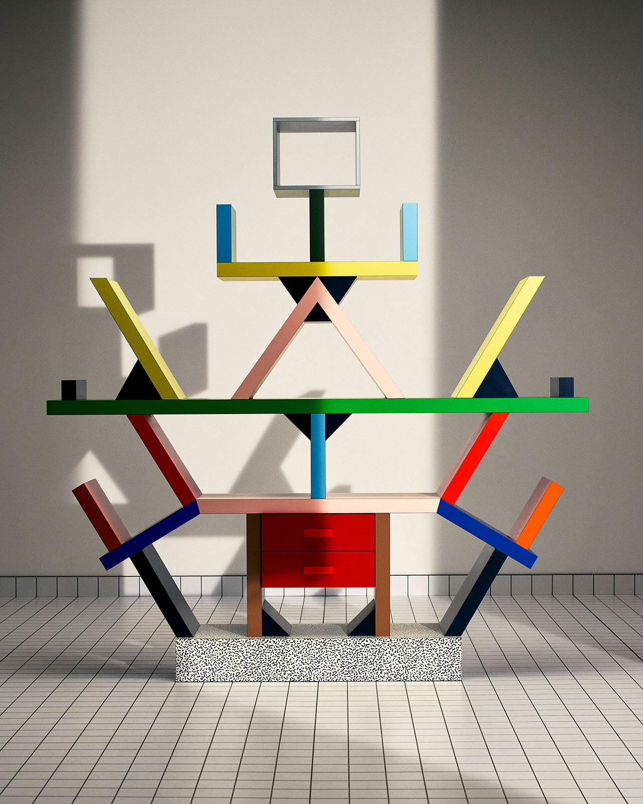 Saint Laurent partners with Memphis Milano for a playful home goods collection