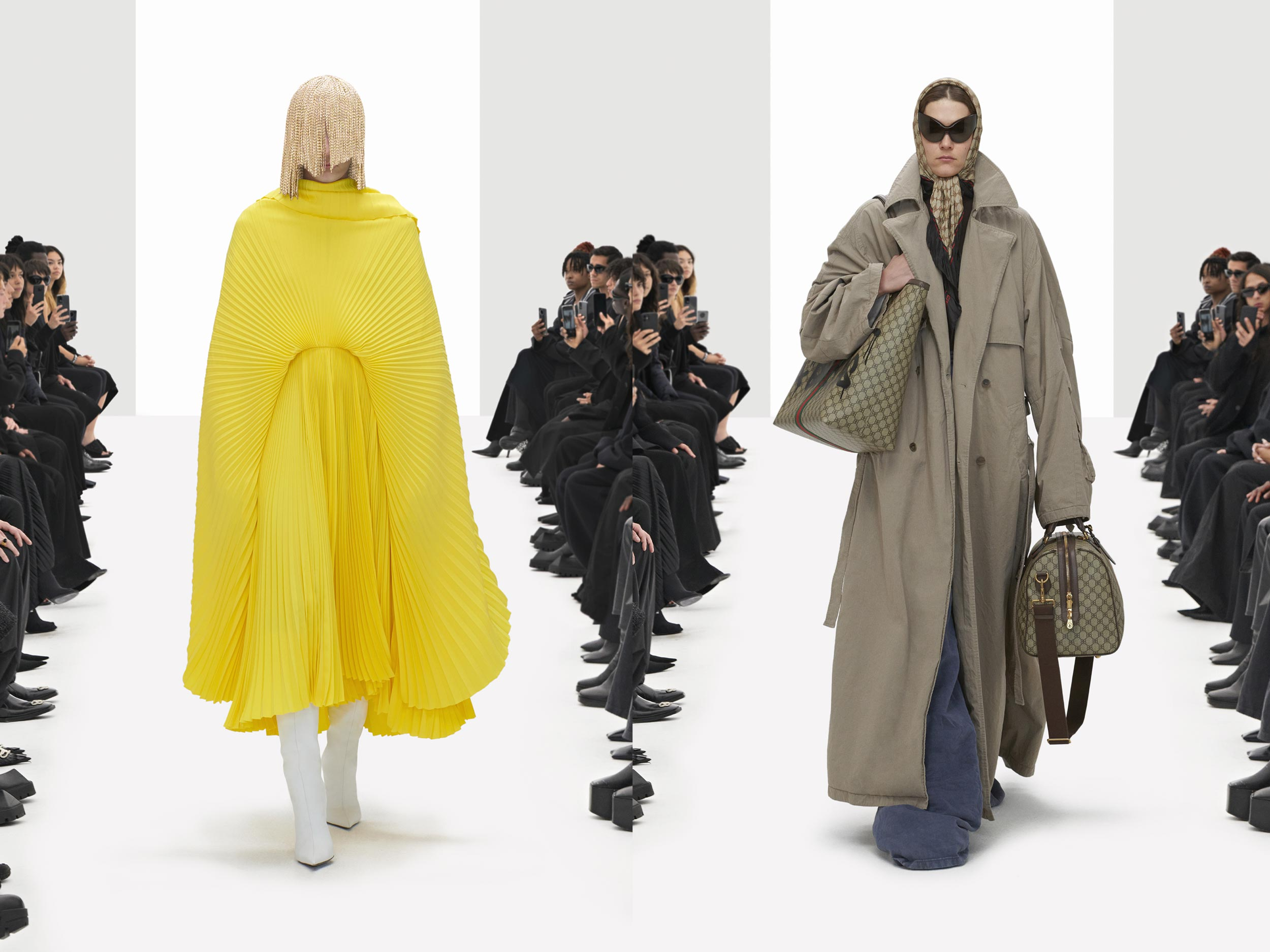 Balenciaga puts a satirical spin on our post-truth times