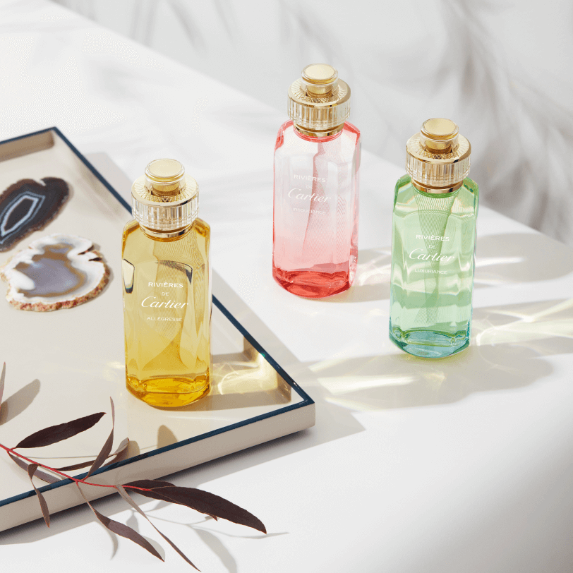 Cartier captures the myriad scents of nature's waterways