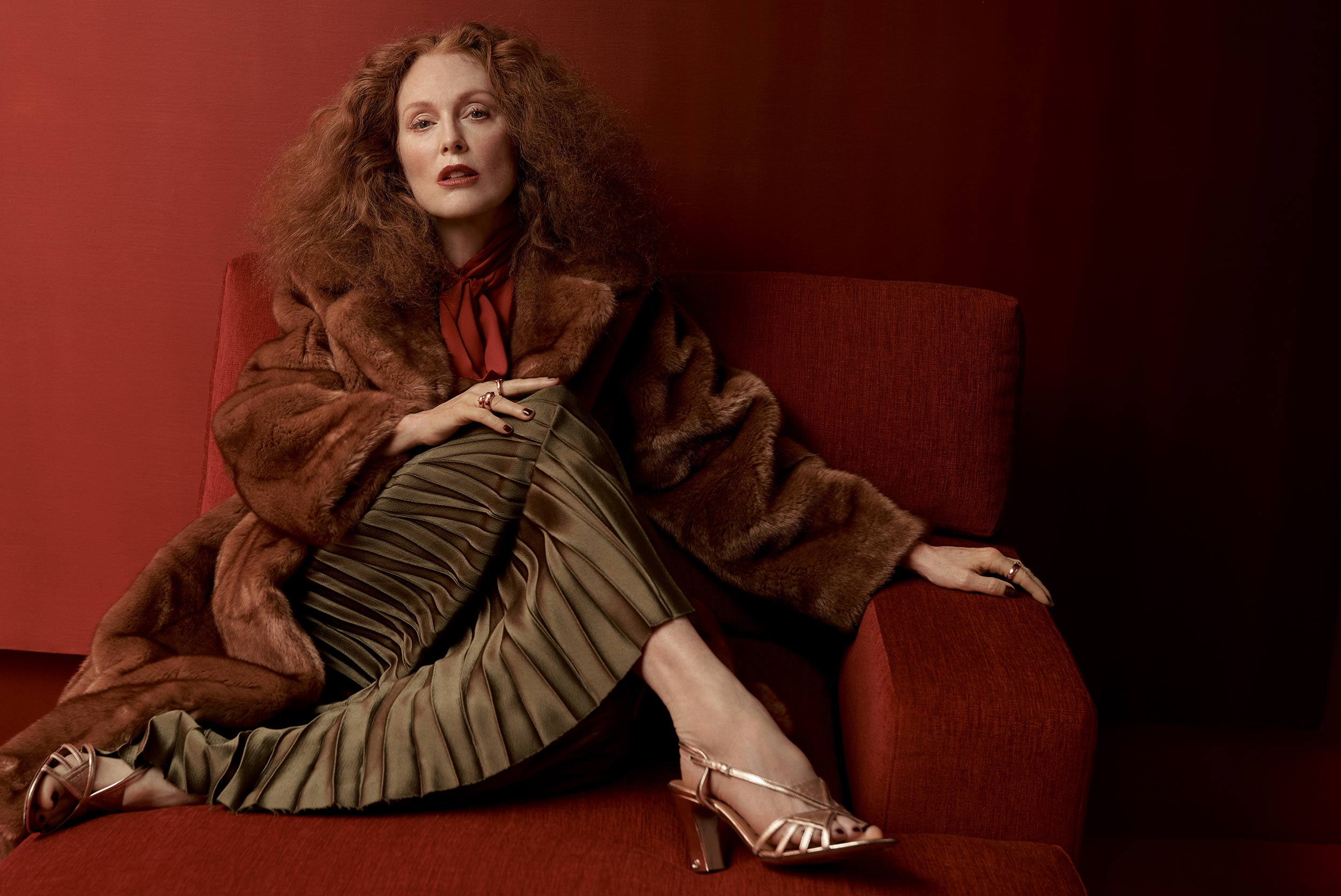 Julianne Moore and Grace Coddington examine the universal human desire to have our stories heard