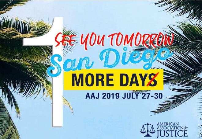 See You Tomorrow - San Diego AAJ 2019 - July 27-30
