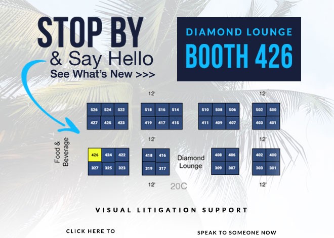 Stop By & Say Hello - Diamon Lounge Booth 426