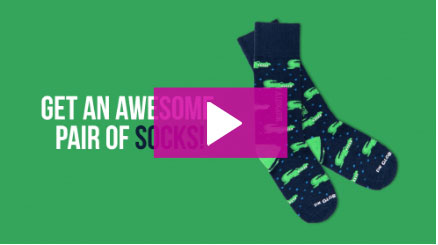 Get An Awesome Paid Of Socks