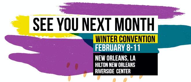See You Next Month - Winter Convention