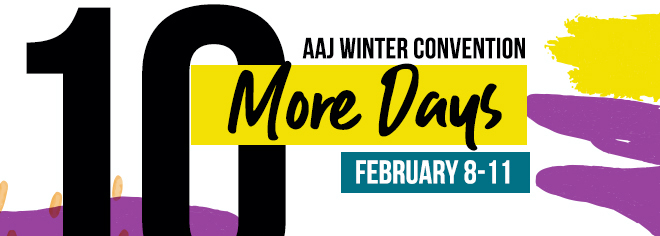 AAJ Winter Concention - 10 More Days - February 8-11