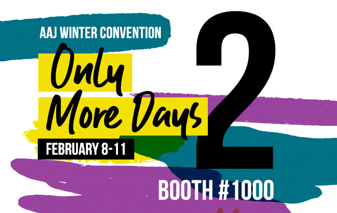 AAJ Winter Convention - Only 2 More Days - February 8-11