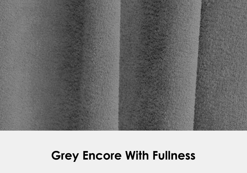 Grey Encore example with fullness
