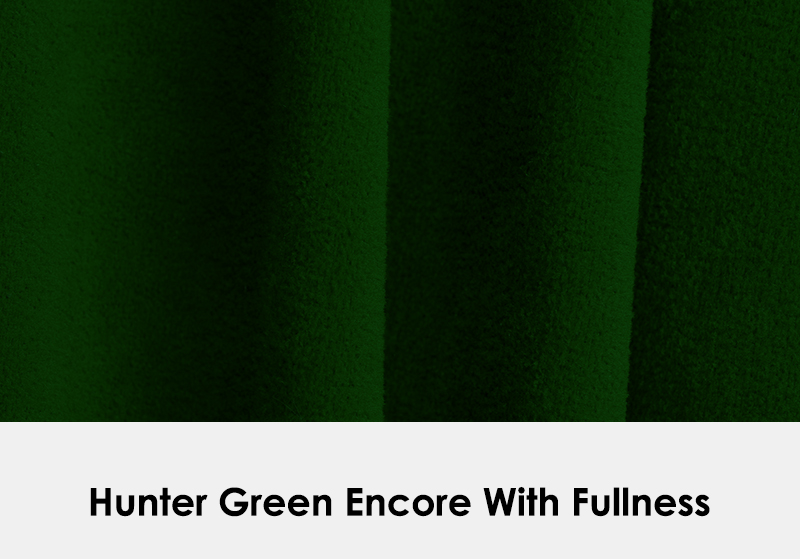Encore Hunter Green with Fullness