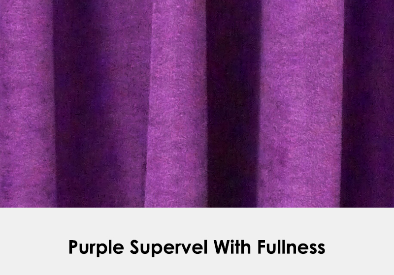 Purple Supervel with Fullness