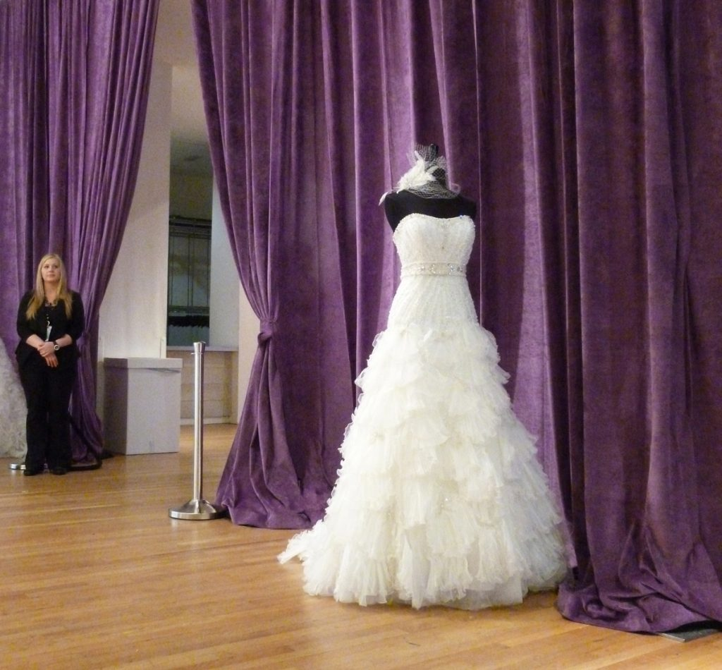 Supervel Purple Event Drape