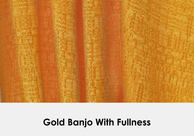 Gold Banjo with Fullness