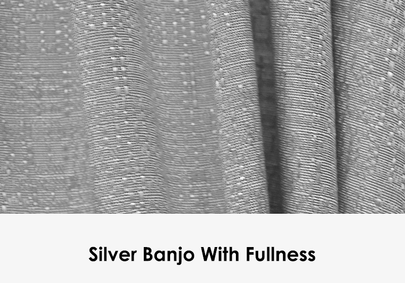 Silver Banjo with Fullness