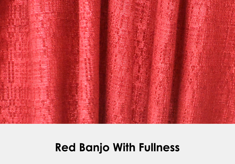 Red Banjo with Fullness