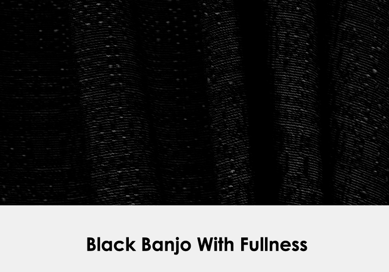 Black Banjo with Fullness