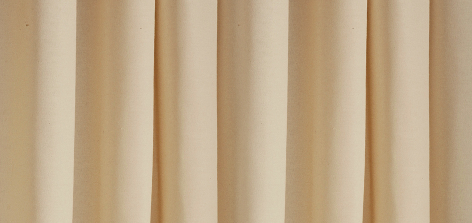Natural Muslin Event Drape