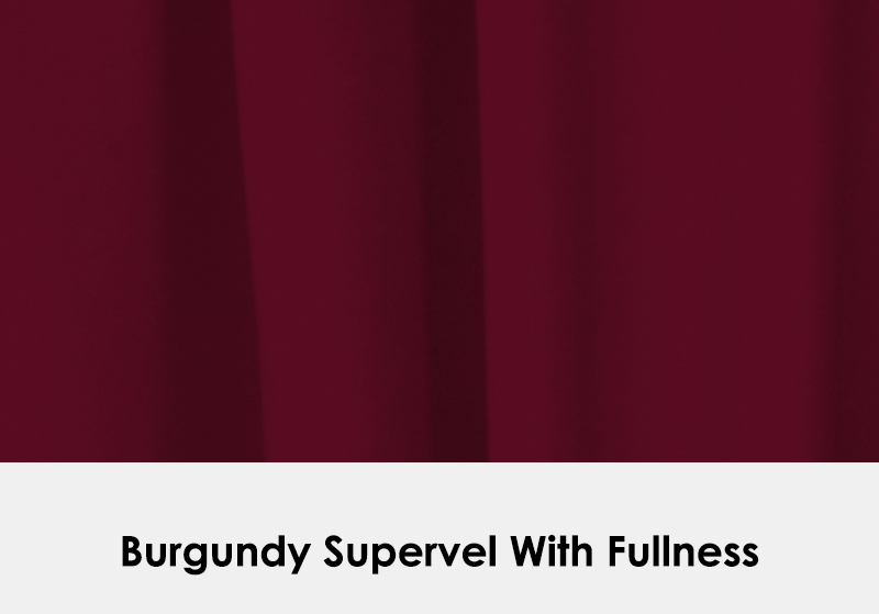 Supervel Burgundy with Fullness