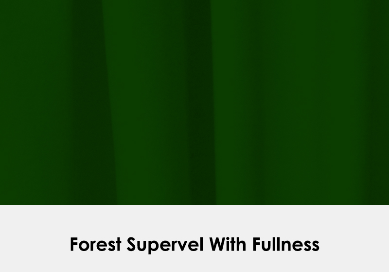 Supervel Forest Green with Fullness
