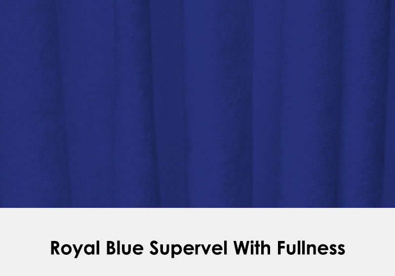 Supervel Royal Blue with Fullness