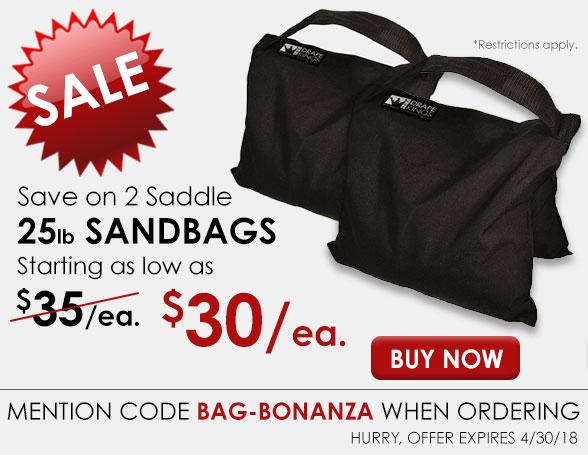25lb Sandbags
